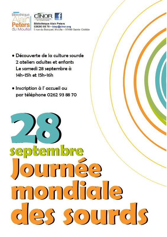 Journée Mondiale des Sourds à La Réunion
