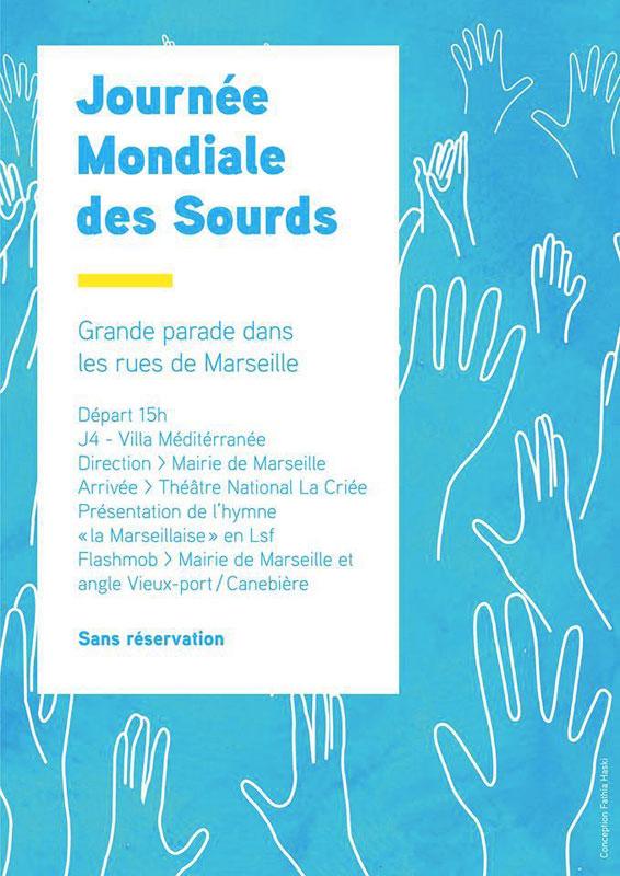 Journée Mondiale des Sourds à Marseille